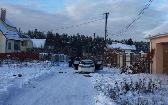 Перестрелка под Киевом