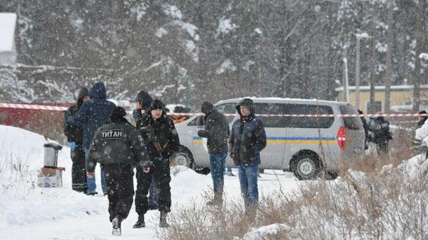 Из-за перестрелки под Киевом погибли 5 правоохранителей