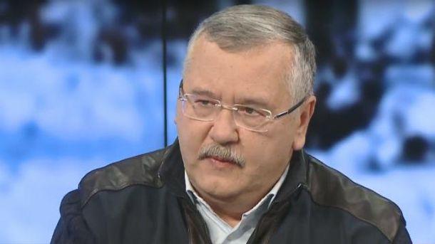 Гриценко прокоментував перестрілку під Києвом