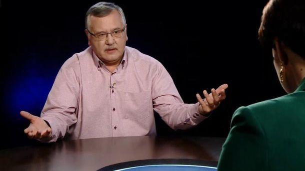 Гриценко рассказал, как бы поступил на месте Авакова