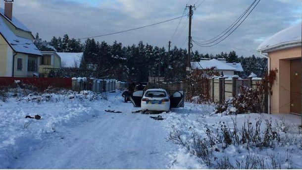 Машину ГСО обстреляли в селе Княжичи
