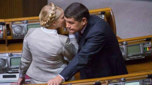 Тимошенко приховує свої зв'язки з Онищенком