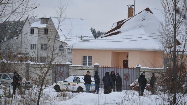 Последствия перестрелки между правоохранителями под Киевом