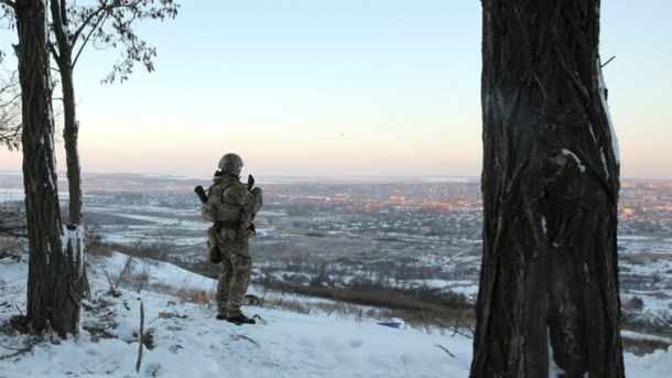 Украинские военные понесли потери в АТО