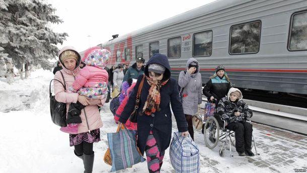 Біженці з Донбасу в Росії