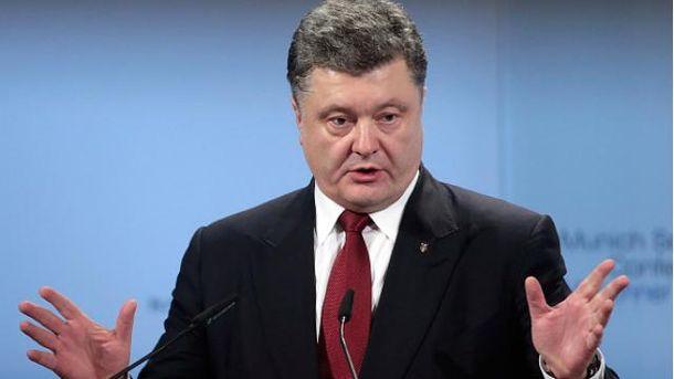 Порошенко озвучил, сколько тяжелой российской техники на Донбассе