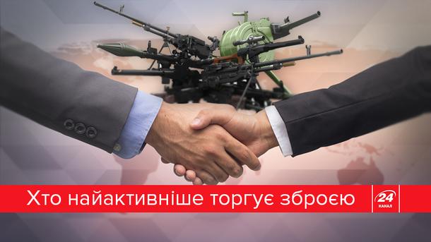 Украина снова попала в десятку крупнейших экспортеров оружия