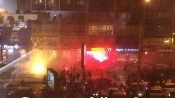 В столкновениях были ранены 10 человек