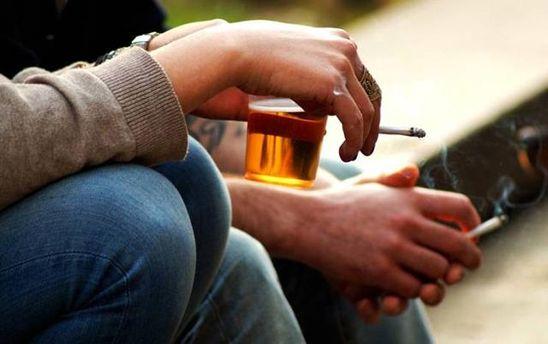 Алкоголь і сигарети