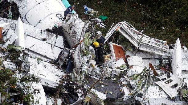 Авиакатастрофа близ Колумбии