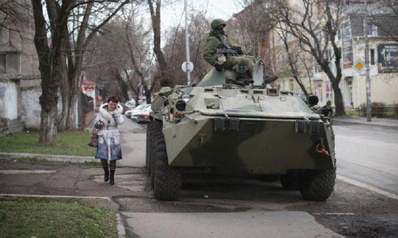 Військова техніка у Криму
