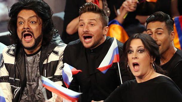Росія на Євробаченні