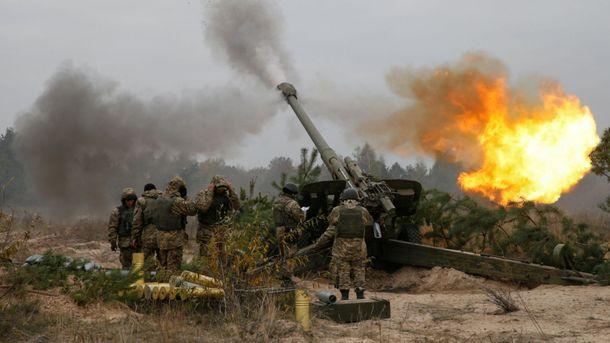 По позициям украинцев стреляли из атрилерії