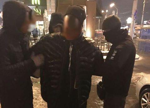 Задержание полицейского