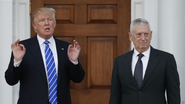 Главою Пентагону при Трампі буде Джеймс Меттіс