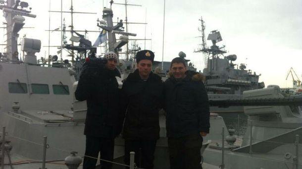 Новенькі бронекатери ВМФ України