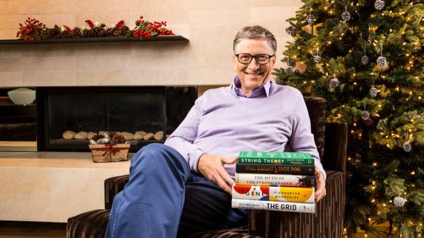 Білл Гейтс сам читає, і вам рекомендує