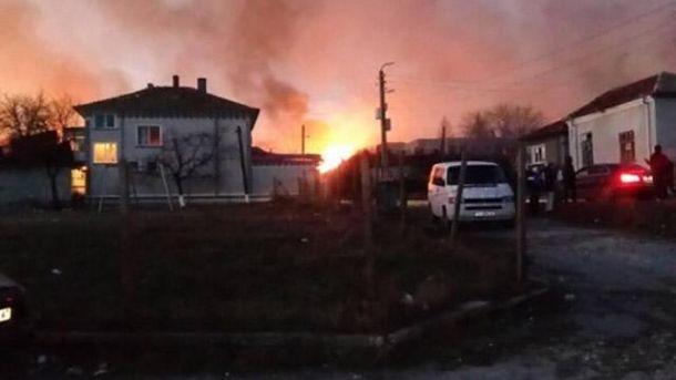 Пожар в Болгарии