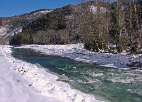 Горная река Черемош