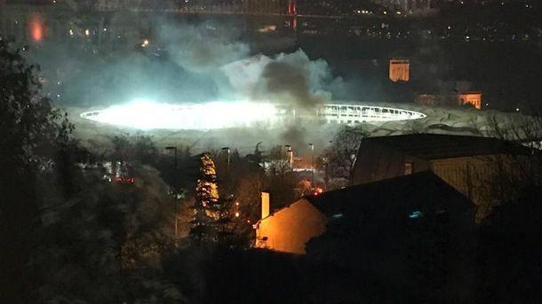 Взрыв прогремел возле стадиона клуба