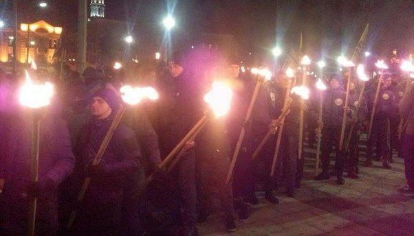 Факельный марш