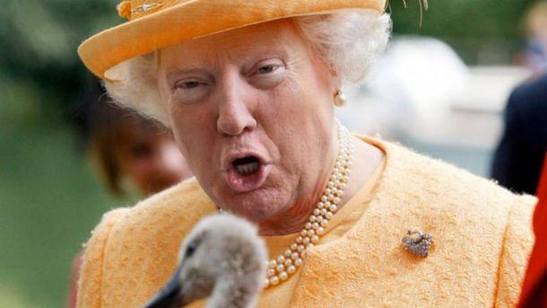 Трампові треба ще повчитись королівських манер