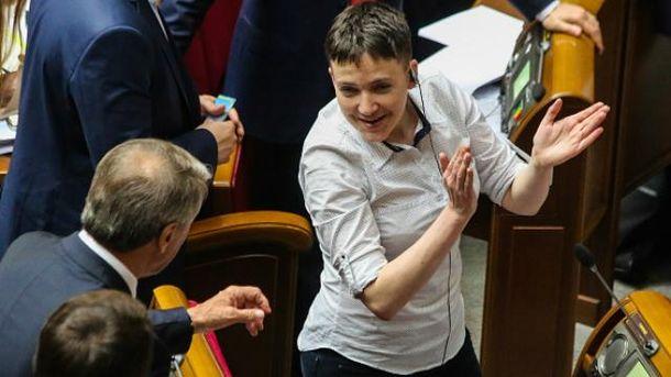 Савченко покинула ряды партии более месяца назад