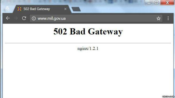 Сайт Міноборони