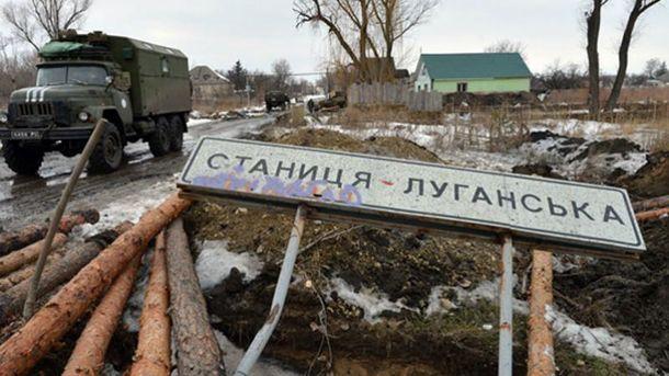 Боевики обстреляли Станицу Луганскую