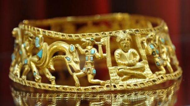 Скифское золото не будут возвращать в аннексированный Крым