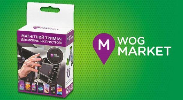 Магнитный держатель для телефона на WOG