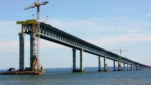 Будівництво Керченського моста