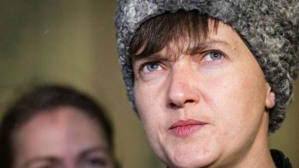 Савченко говорила с боевиками не только об освобождении заложников