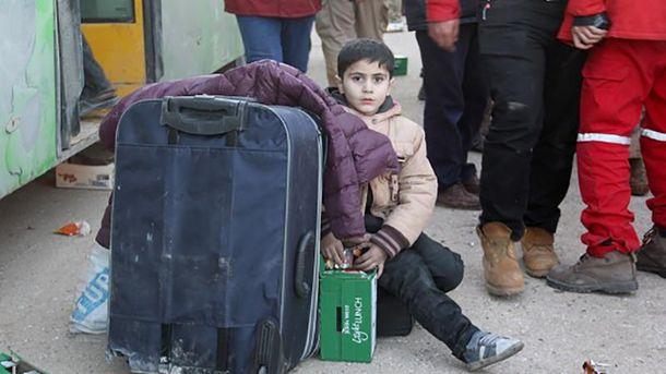 Ребенок из  Алеппо