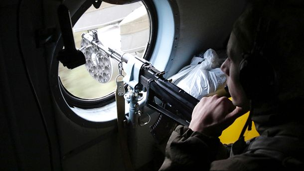 Один украинский военнослужащий получил ранения
