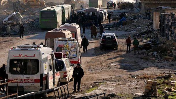 Евакуація Алеппо