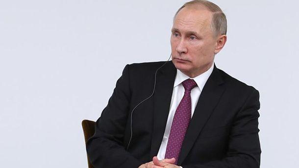 Путін сам у шоці