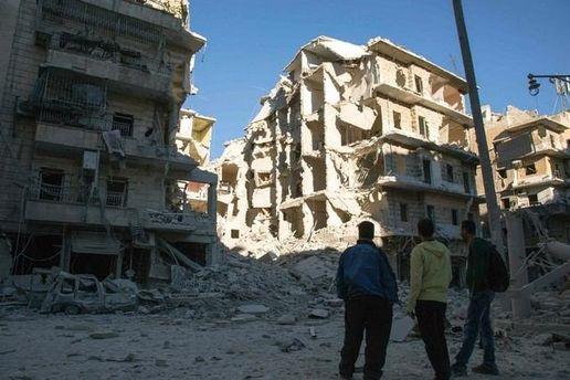 Разгромленное Алеппо