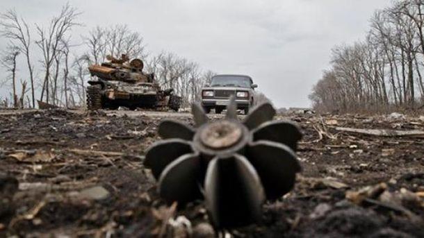 Бойовики гатили по позиціях українських бійців