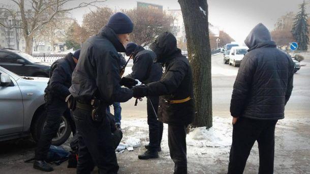 Поліція затримала зловмисників