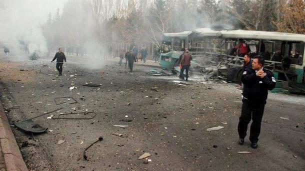 Взрыв в Турци