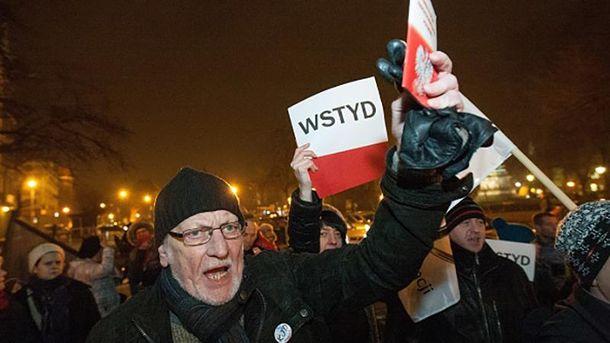 Протести у Польщі