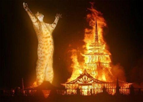 Поджог другой церкви