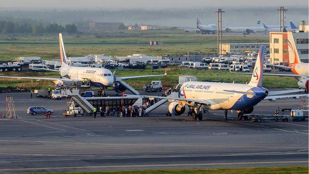 Літаки у Домодєдово