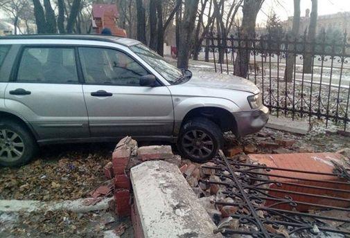 Аварія в Одесі