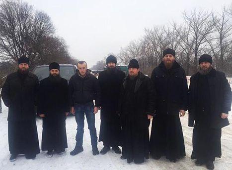Священнослужители с Тарасом Колодием