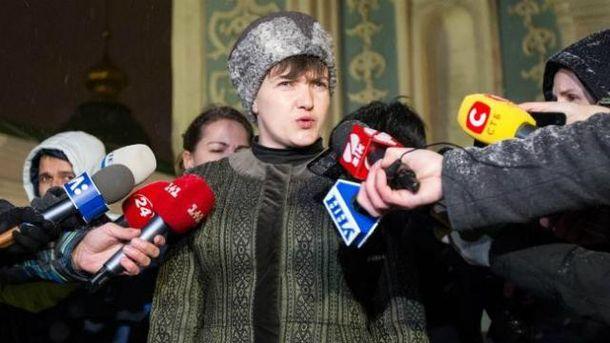 Савченко удивила новой шапкой
