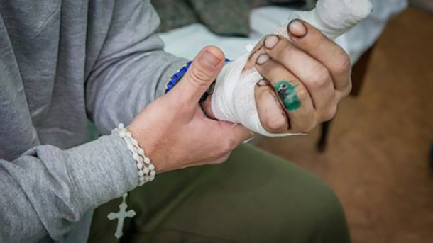 27 военнослужащих доставили в харьковский госпиталь