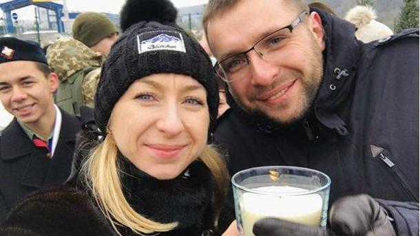 Володимир Парасюк з сестрою