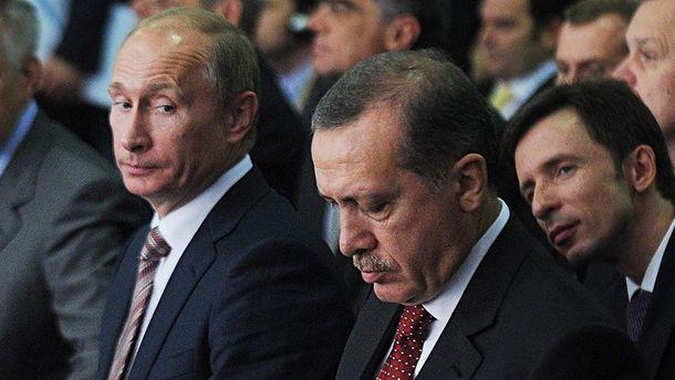 Володимир Путін та Реджеп Ердоган